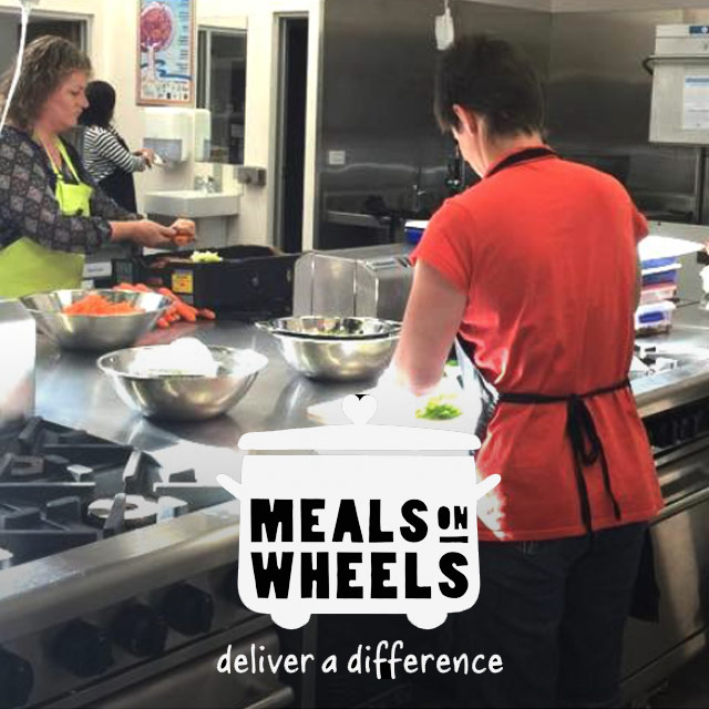 Meals on Wheels – Longest Lutheran Lunch style!